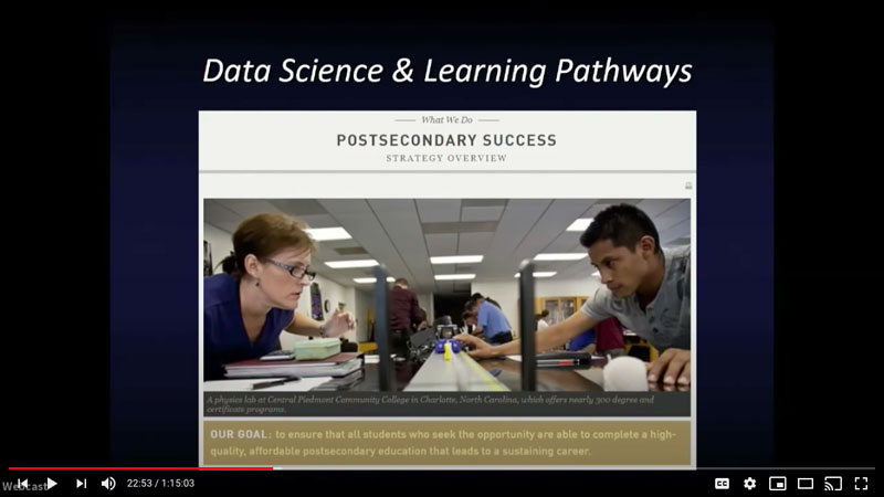 Data Science & Learning Pathways