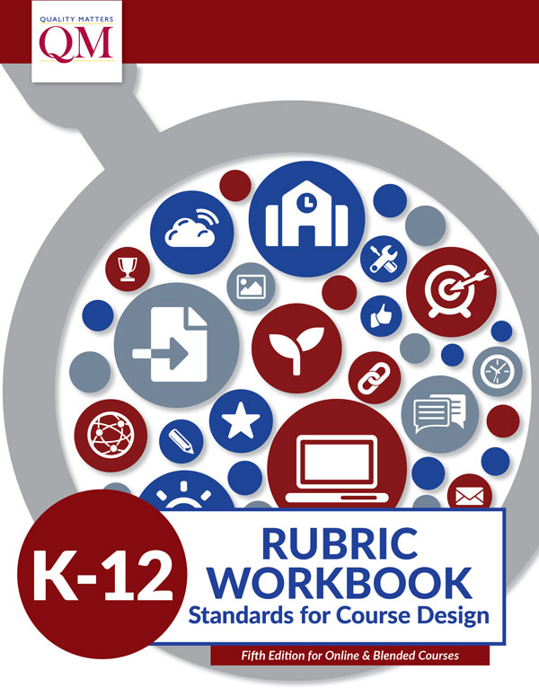 QM-K-12-Rubric-Workbook-Fifth-Edition-Cover