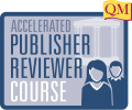 Accelerated Publisher Reviewer Course