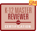 K-12 Master Reviewer Certification logo text